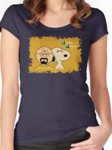 Breaking Bad Peanuts Women's Fitted Scoop T-Shirt
