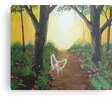 toward your light Canvas Print