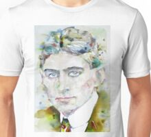 FRANZ KAFKA - watercolor portrait.6 Unisex T-Shirt