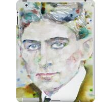 FRANZ KAFKA - watercolor portrait.6 iPad Case/Skin