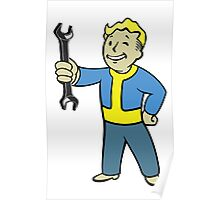 Vault Boy Mechanic  Poster