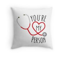 Grey's Anatomy - You're My Person Throw Pillow