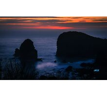 harris beach Photographic Print