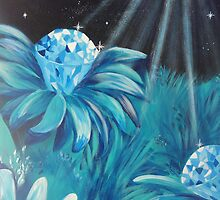 Diamond flowers by jessica-sophie