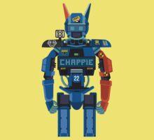 Chappie vector character fanart Kids Clothes