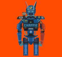 Chappie vector character fanart Kids Tee