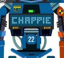Chappie vector character fanart Sticker