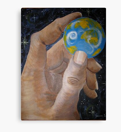 Small world Canvas Print