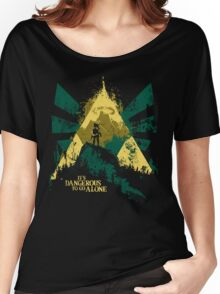 It's Dangerous To Go Alone Women's Relaxed Fit T-Shirt