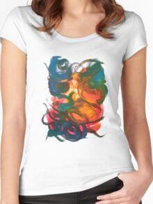 Nonexistence and the Life Force of Enlightenment Women's Fitted Scoop T-Shirt