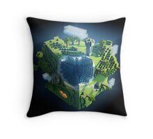 minecraft  Throw Pillow