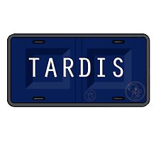 TARDIS plate by Sarah Morrison