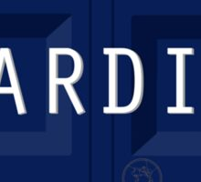 TARDIS plate Sticker