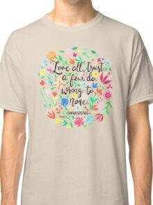 Love All Classic T-Shirt