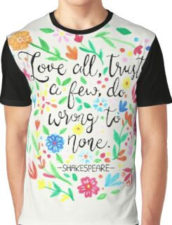 Love All Graphic T-Shirt