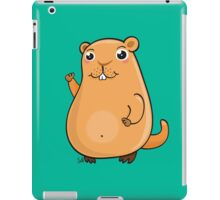 GroundHog Kawaii iPad Case/Skin