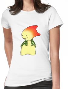 Calvin Curious - The Original Womens Fitted T-Shirt
