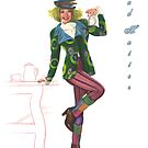 Mad Hatter by KC Art