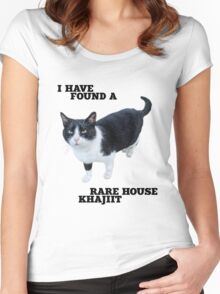 Rare House Khajiit Women's Fitted Scoop T-Shirt