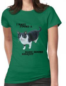 Rare House Khajiit Womens Fitted T-Shirt