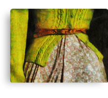 The  Factory Worker  Canvas Print