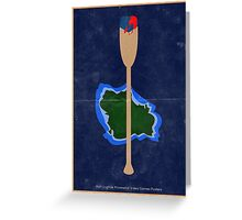 Without A Paddle Greeting Card
