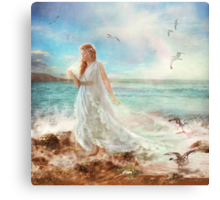 Maiden of Seafoam Canvas Print