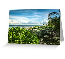 Mexican Seascape Greeting Card