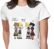 kingdom hearts adventure time  Womens Fitted T-Shirt