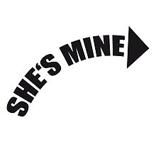 She's Mine Arrow Design by Style-O-Mat