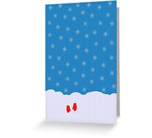 Lost Mittens Greeting Card