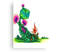 Nature's Throne Canvas Print