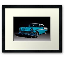 1956 Chevrolet Bel Air Framed Print
