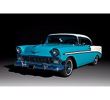 1956 Chevrolet Bel Air Photographic Print
