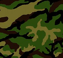 Camouflage Military Tribute by Roz Abellera