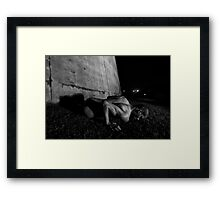 """Weight of the soul"" Framed Print"