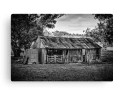 Louttits Shed Canvas Print