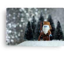 Yeti Crockett - King of the Wild Frontier Canvas Print