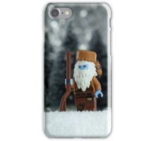 Yeti Crockett - King of the Wild Frontier iPhone Case/Skin