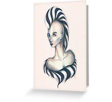 Lady Z Greeting Card