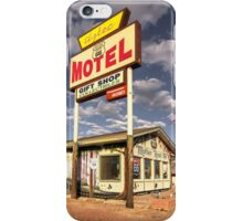 The Aztec Motel  iPhone Case/Skin