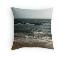 Connecticut Surf Throw Pillow