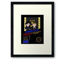 NINTENDO: NES SHERLOCK Framed Print