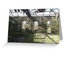 Abandoned structure Greeting Card