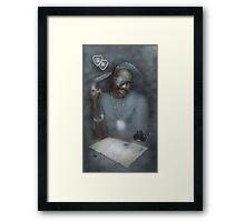 The Ruler Framed Print