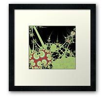 Alien Ladybugs in Paris Framed Print