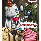 Dalek Party by redpawdesigns
