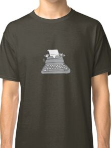 Lonely Typewriter Classic T-Shirt