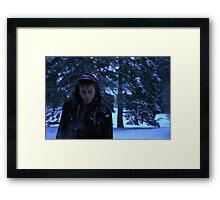 Cold smoke Framed Print