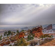 Red Rocks Peak Photographic Print